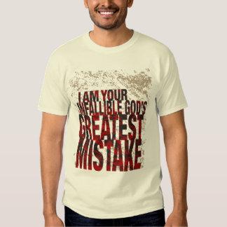 El gran error de dios camisas