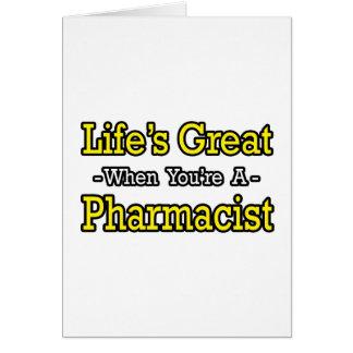 El gran… farmacéutico de la vida felicitaciones