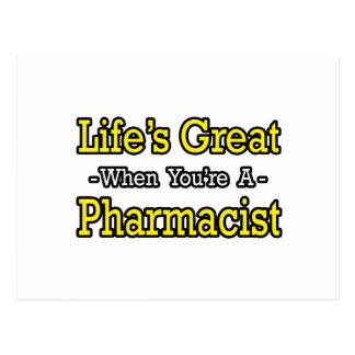 El gran… farmacéutico de la vida postal