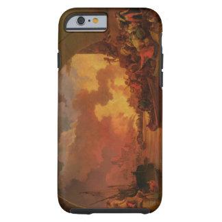 El gran fuego de Londres, c.1797 (aceite en lona) Funda De iPhone 6 Tough
