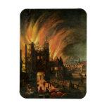 El gran fuego de Londres (septiembre de 1666) con  Imán