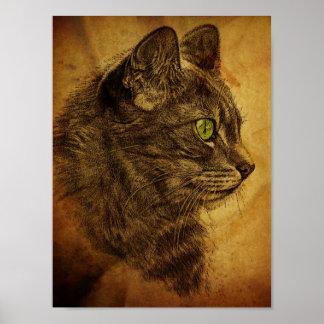 El gran gato póster