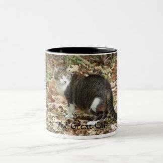 El gran gato tazas de café