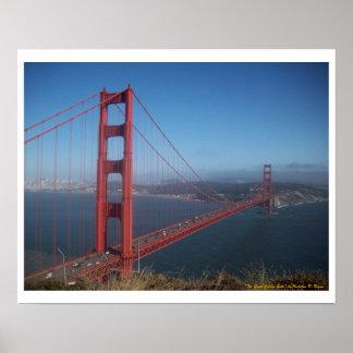"""¡""""El gran Golden Gate,"""" poster! Póster"""