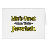 El gran… judío de la vida felicitación