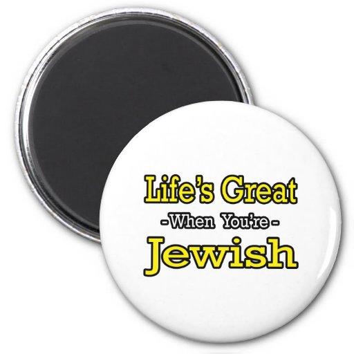 El gran… judío de la vida iman de frigorífico