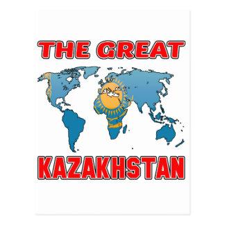 El gran KAZAJISTÁN Postal