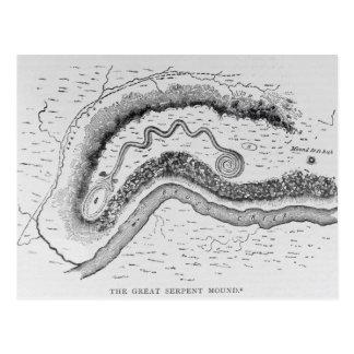 El gran montón de la serpiente postales