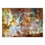 El gran nacimiento de la estrella de la nebulosa N Felicitación