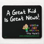"""El """"gran niño es grandes noticias"""" Mousepad Alfombrilla De Raton"""