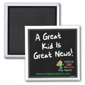 """El """"gran niño es imán de las grandes noticias"""""""