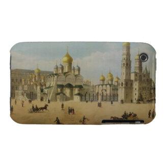 El gran palacio del Kremlin y las catedrales del iPhone 3 Carcasas