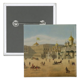 El gran palacio del Kremlin y las catedrales del Pin Cuadrada 5 Cm