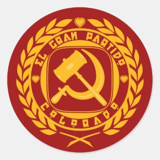 El Gran Partido Colorado Stickers