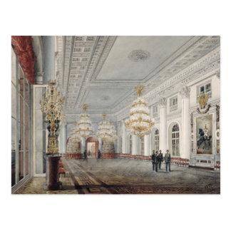 El gran pasillo, palacio del invierno, St Petersbu Postales