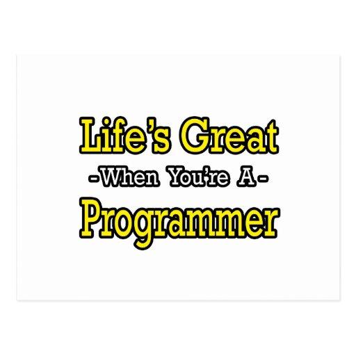 El gran… programador de la vida postal