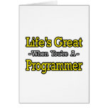 El gran… programador de la vida tarjetas
