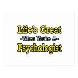 El gran… psicólogo de la vida tarjetas postales