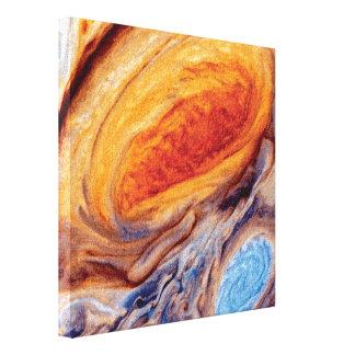 El gran punto rojo de Júpiter Impresión En Lienzo