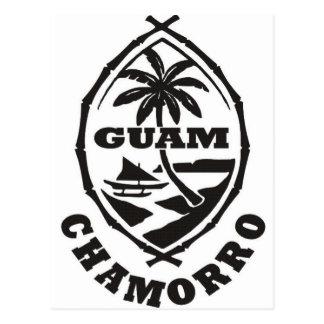 El gran sello de Guam Postales
