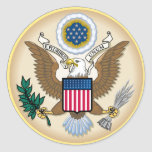 El gran sello etiqueta redonda