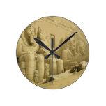 """El gran templo de Abu Simbel, Nubia, de """"Egipto Reloj"""