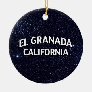 EL Granada California Adornos De Navidad