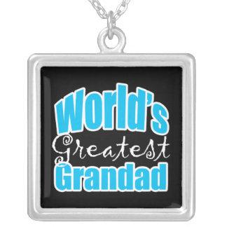 El Grandad más grande de los mundos Collar Plateado