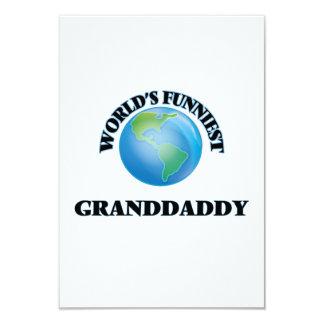 """El Granddaddy más divertido del mundo Invitación 3.5"""" X 5"""""""