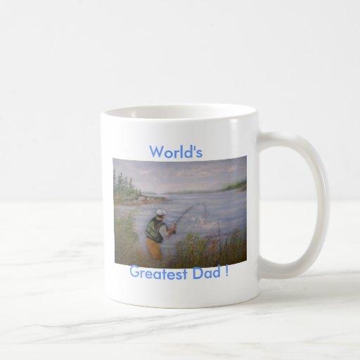 ¡El grande, el papá más grande del mundo! Taza De Café