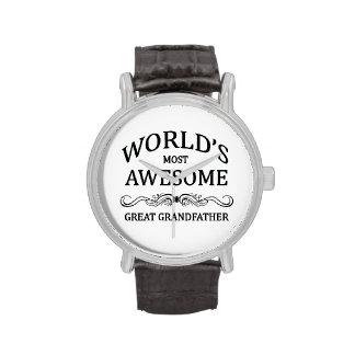 El grande más impresionante del mundo - abuelo relojes