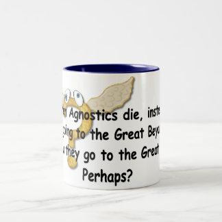 El grande quizás taza de dos tonos
