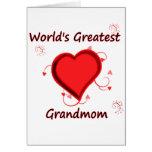 El grandmom más grande del mundo felicitacion