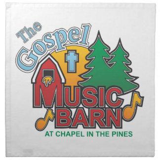 El granero de la música gospel servilletas