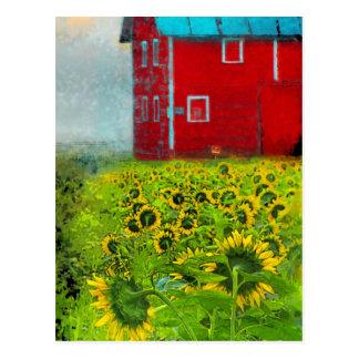 El granero de los vecinos, postal