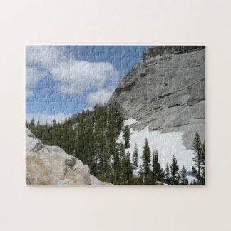 El granito Nevado cubre con una cúpula rompecabeza