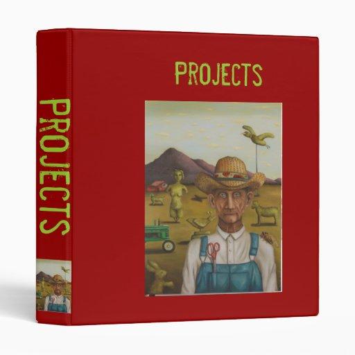 El granjero excéntrico, carpeta de los proyectos