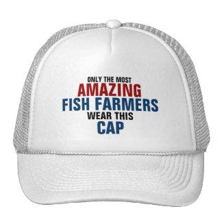 El granjero más asombroso de los pescados del mund gorros