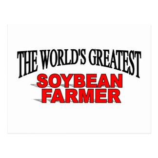 El granjero más grande de la soja del mundo postal