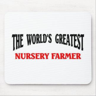 El granjero más grande del cuarto de niños del mun alfombrillas de ratones