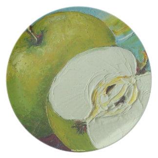 El granny smith verde Apple platea Platos Para Fiestas
