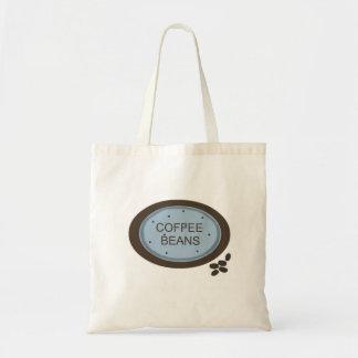 El grano de café firma adentro el azul y a Brown Bolsa Tela Barata