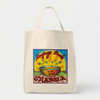 El Granola del cuenco del canto lleva el bolso Bolsas De Mano
