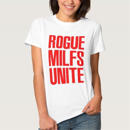 El granuja MILFS une T-shirts