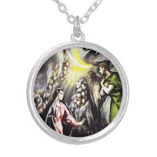 El Greco Annunciation Necklace