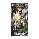 El Greco Annunciation Virgin Mary Canvas Wrap Canvas Print