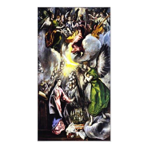 El Greco Annunciation Virgin Mary Photo Print