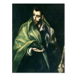 El Greco- Apostle St. James the Greater Post Cards