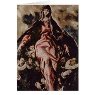 El Greco Art Card