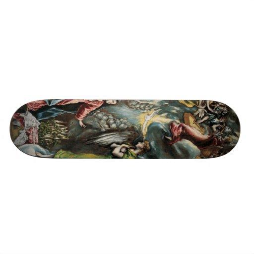 El Greco Art Custom Skate Board